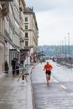 3 maart, 2015 harmoniemarathon in Genève zwitserland Royalty-vrije Stock Afbeeldingen