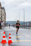 3 maart, 2015 harmoniemarathon in Genève zwitserland Stock Foto's