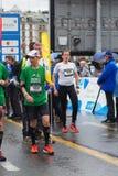 3 maart, 2015 harmoniemarathon in Genève zwitserland Stock Foto