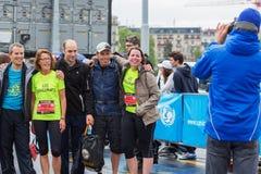 3 maart, 2015 harmoniemarathon in Genève zwitserland Stock Afbeeldingen