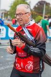 3 maart, 2015 harmoniemarathon in Genève zwitserland Royalty-vrije Stock Foto