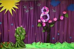 8 maart Internationale Gelukkige Vrouwen` s Dag De vrouwelijke dag van de conceptenvakantie Gelukkige vrouwen ` s dag 8 Maart Vri Stock Fotografie
