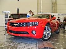 31 maart, 2015, Kiev Chevrolet Camaro RS stock afbeeldingen