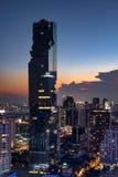 19 Maart 2017, MahaNakhon-toren in Bangkok Royalty-vrije Stock Afbeelding