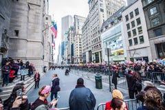 Maart 2017 NYC van vrouwen Stock Fotografie