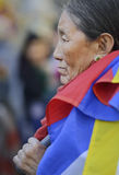 10 Maart-Opstand Dag 2017 in Tibet, Bern zwitserland Stock Foto's