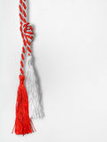 1 maart traditionele trinket symbolen van liefde Royalty-vrije Stock Afbeeldingen