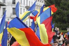 Maart-unie Roemenië en Moldavië royalty-vrije stock afbeeldingen