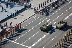 Maart van Onafhankelijkheid in Kiev Royalty-vrije Stock Afbeelding