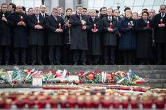 Maart van Waardigheid in Kyiv Stock Afbeelding