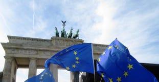 Maart voor Europa Berlijn Stock Afbeelding