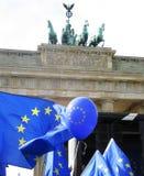 Maart voor Europa Berlijn Royalty-vrije Stock Fotografie