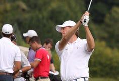 Maarten Lafeber, Vivendi golf cup, sept 2010 Royalty Free Stock Photo