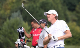 Maarten Lafeber, Vivendi golf cup, sept 2010 Stock Photos