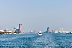 Maas river  skyline Stock Photography