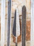 Maasai武器 库存图片