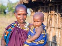 Maasai Royaltyfria Foton