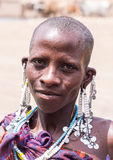 Maasai in Arusha royalty free stock images