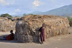 Maasai Child Royalty Free Stock Images