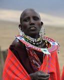 Maasai Frau Lizenzfreie Stockfotografie