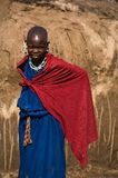Maasai girl. Royalty Free Stock Images