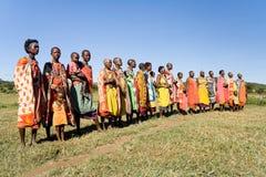 maasai kobiety Obrazy Stock