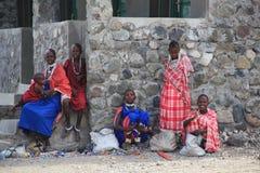 Maasai Mädchen Stockfotografie