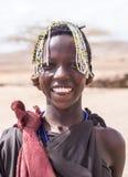 Maasai-Mädchen lizenzfreies stockfoto