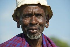 Maasai man Royaltyfria Bilder