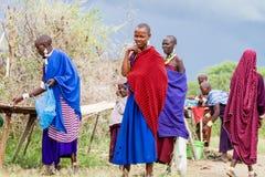 Maasai. Photography taken in Arusha, Tanzania royalty free stock photo
