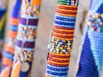 Maasai rungu 免版税库存照片