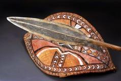 Maasai Spear Head. Stock Photos