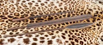 Maasai Spear Heads. royalty free stock photo