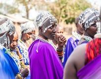 Maasai in Tanzania Royalty Free Stock Photo