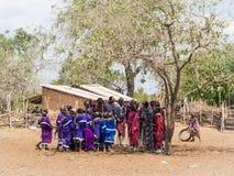 Maasai in Tanzania Royalty Free Stock Photos