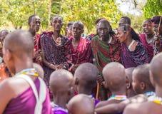 Maasai in Tanzania Royalty Free Stock Images