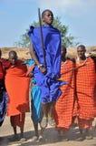 Maasai Traditional Dance Stock Images