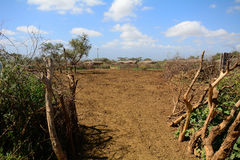 Maasai village, Kenya Stock Photography