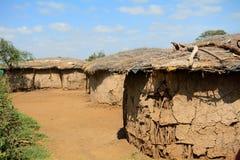 Maasai village, Kenya Stock Photo