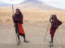 Maasai w Arusha Zdjęcia Stock