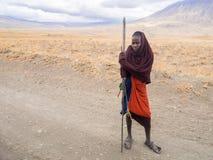 Maasai w Arusha Obrazy Royalty Free