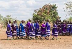 Maasai w Tanzania Obrazy Royalty Free