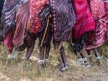 Maasai w Tanzania Obrazy Stock