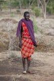 Maasai warrior Royalty Free Stock Images