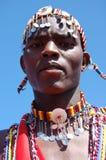 Maasai wojownik Zdjęcia Stock