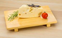 Maasdam cheese Stock Photo