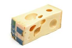 Maasdam del queso Foto de archivo