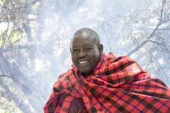 Maasi Chief, Ngorongoro Conservationa Area, Tanzania Stock Photos