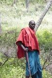 Maasi warrior, Ngorongoro Conservationa Area, Tanzania, Ngorongo Royalty Free Stock Image