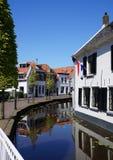 Maasland Midden Delfland, Nederländerna Fotografering för Bildbyråer